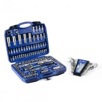 Набор инструмента 108 единиц, Набор ключей комбинированных 12 единиц BestTools