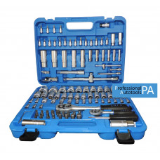 Набор инструмента 1/4 и 1/2  6-гранный 108 предметов INFO 61082