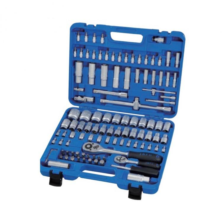 Набор инструмента 1/4 и 1/2  6-гр. 108 предметов Info 61082