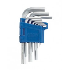 Набор ключей 6-гр. (HEX) Г-обр. 10 пр. (1.27-10 мм) Info 9102