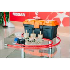 Комплект для восстановления гидравлических (газо-масляных) стоек и амортизаторов 5 насадок KVGS-5