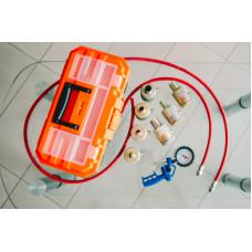 Комплект для восстановления гидравлических (газо-масляных) стоек и амортизаторов 12 насадок KVGS-12