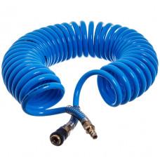 Шланг спиральный полиуретановый (PROFI) 8*12мм L=5м  AIRKRAFT . Made in Italy. AHC48-I