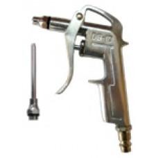 Пистолет продувочный 15мм с дополнительным наконечником 80мм Airkraft DG-10-1-3