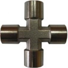 Крестовое соединение с внутренней резьбой 1/4, Airkraft S1283-2