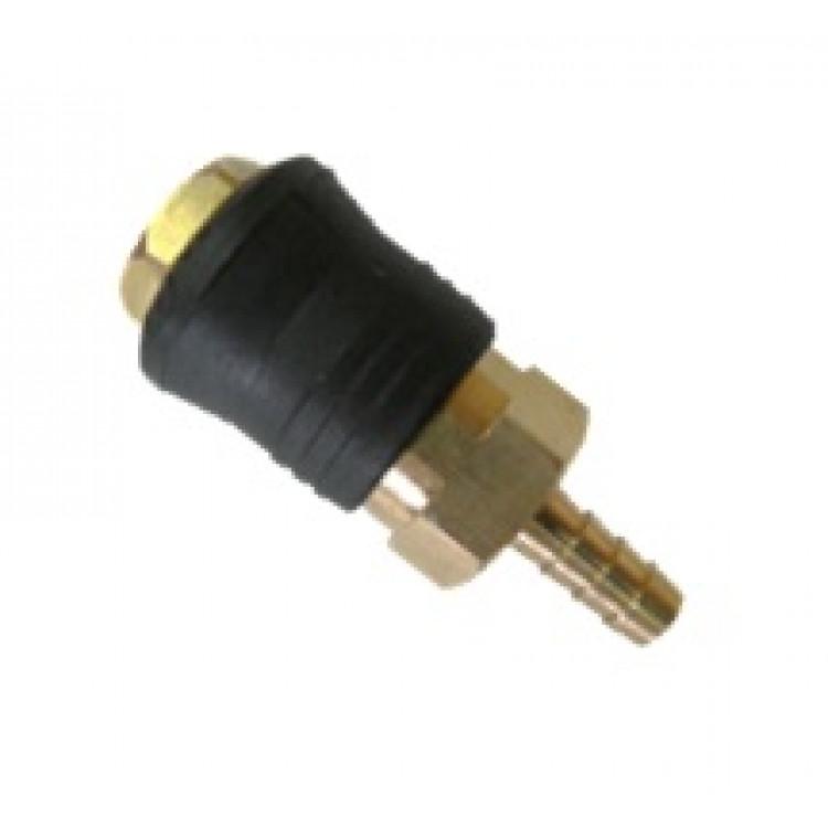 Быстроразъёмное соединение на шланг 6мм (PROFI) AIRKRAFT . Made in Italy. SE6-2SH