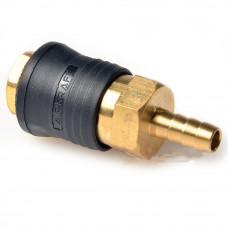 Быстроразъёмное соединение на шланг 10мм (PROFI) AIRKRAFT SE6-4SH. Made in Italy.
