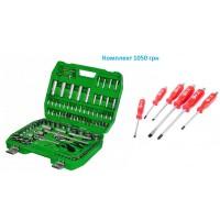 Набор инструментов Intertool 108 единиц ET-6108SP, Набор ударных отверток 6 штут HT-0403