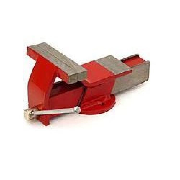 Тиски поворотные 150 мм (стальные) Atex 07AT215(red)
