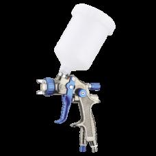 Краскопульт пневматический тип LVLP верхний пластиковый бачок, диаметр форсунки-1,3мм AUARITA H-897-1.3