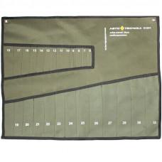 Чехол брезентовый для 25-ти комбинированных ключей (6-32 мм) Автотехника  101250/1