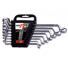 Набор ключей накидных отогнутых на 75° в пластиковом держателе 8 пр. (6-22 мм) Baum 20-8MP