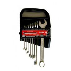 Набор ключей рожково-накидных в пластиковом держателе 8 пр. (7-17 мм) Baum 30-08MP