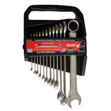 Набор ключей рожково-накидных в пластиковом держателе 12 пр. (6-22 мм) Baum 30-12MP