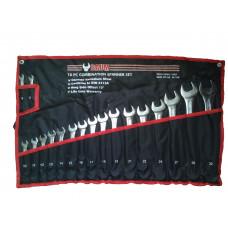 Набор ключей рожково-накидных на полотне 18 пр. (8-32 мм) Baum 30-18M