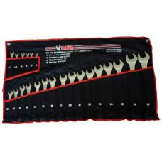 Набор ключей рожково-накидных на полотне 22 пр. (6-32 мм) Baum 30-22M