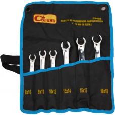Набор ключей разрезных 8-18 мм CORONA 6 ед, C6406