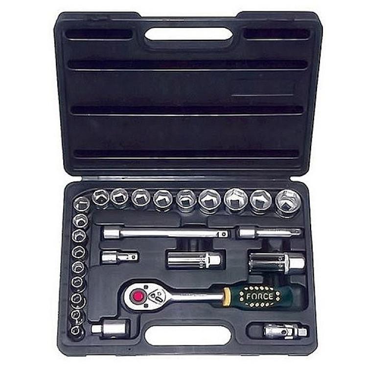 Набор инструмента Force 3/8  6-гр. 26 пр. (6-24 мм) Артикул:  3261