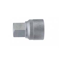 1/2 Головка-бита 6-гр. (HEX) цельная 10 мм, L=40 мм 34410