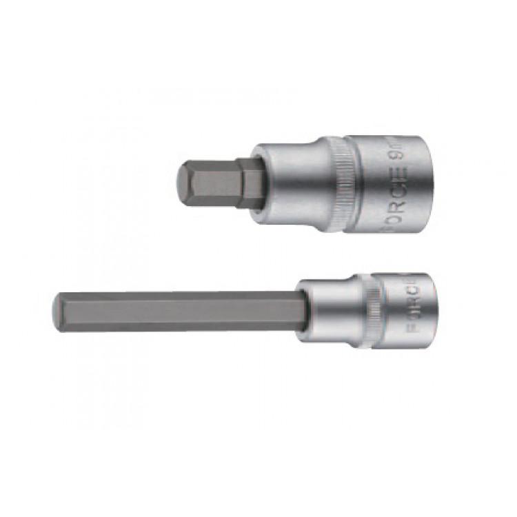Головка-бита 1/2  6-гр. (HEX) 19 мм, L=110 мм Force 34411019