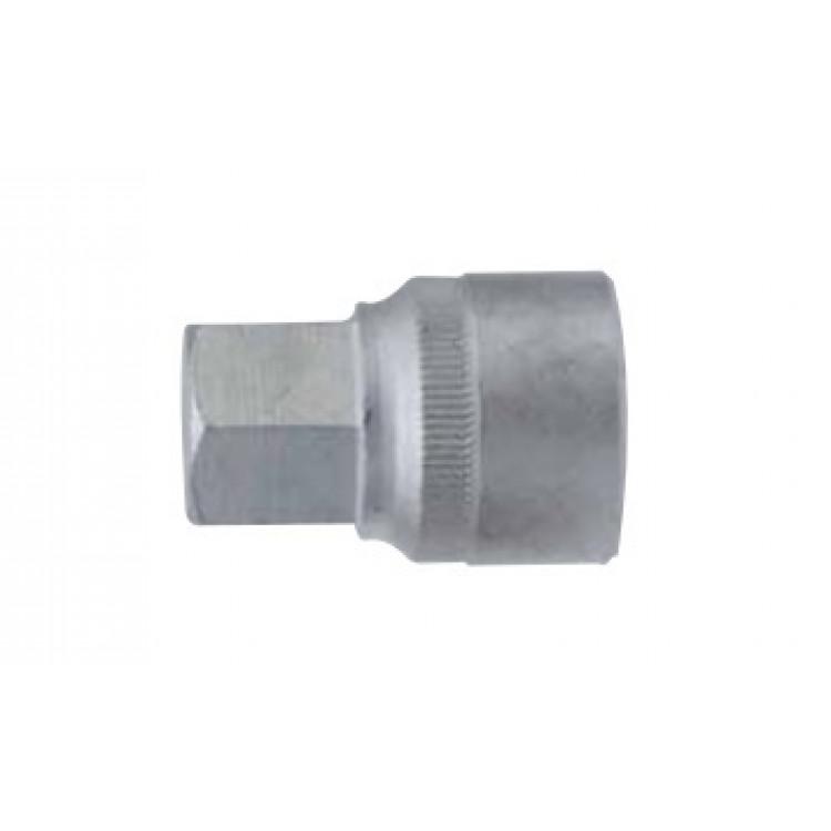 1/2 Головка-бита 6-гр. (HEX) цельная 17 мм, L=42 мм