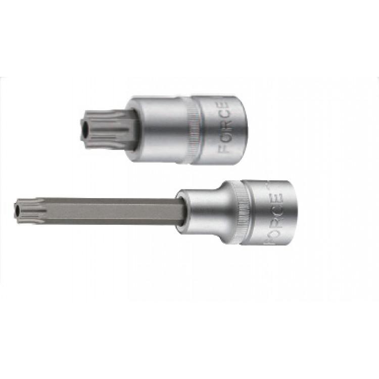 Force 1/2 Головка-бита Torx с отверствием Т80Н, L=100 мм Артикул:  34710080