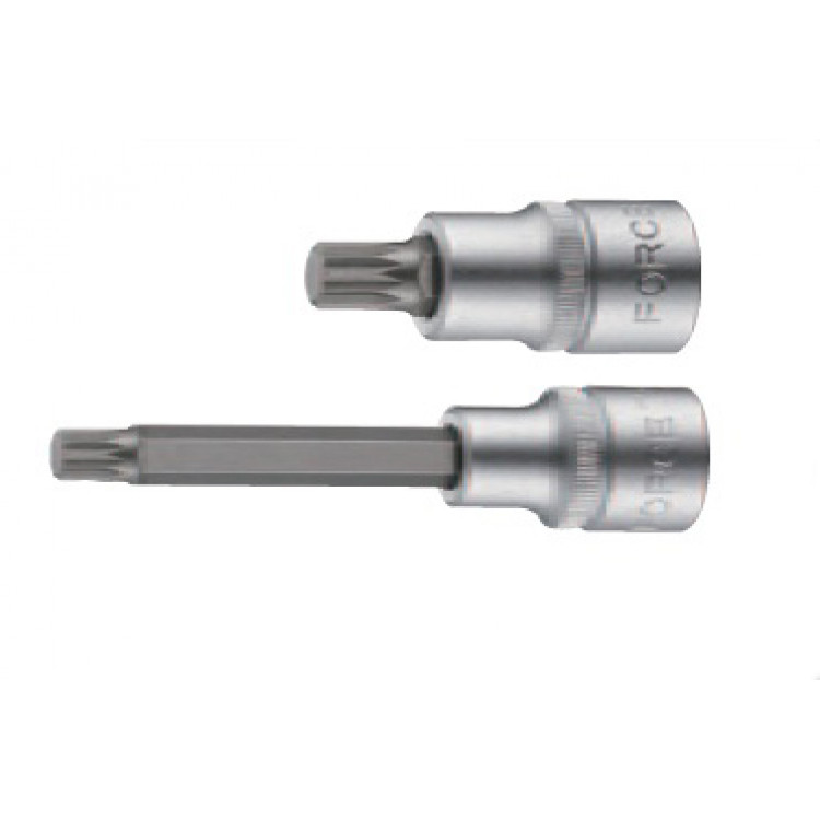 Force 1/2 Головка-бита Spline с отверстием М16, L=100 мм Артикул:  34810016T