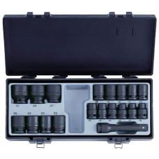 Набор головок 1/2  6-гранных ударных 19 предметов (10-32 мм) Force 4193