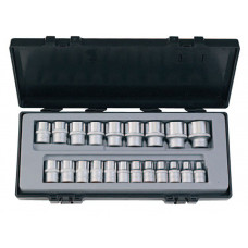Набор головок 1/2 12-гранные 21 предмет (8-32 мм) Force 4212-9