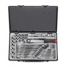 Набор инструмента 1/2 6-гр. 39 пр. (10-32 мм) Force 4234B+5161