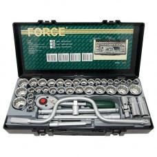 Набор инструмента 12-гр. 1/2  MM+SAE 41 пр. Force 4412