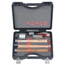Набор оправок и молотков для рихтовочных работ 7 предметов Force 50713B