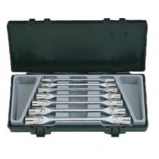 Набор ключей торцевых с шарниром 7 пр. (6-19 мм) Force 5074