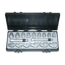 Набор ключей-насадок разрезных 17 пр. (10-26 мм) Force 5172