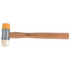 Молоток рихтовочный безоткатный с полиуретановым и нейлоновым бойками 400 гр. Force 616A400