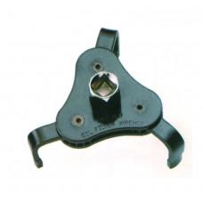 Съемник масляного фильтра 3-х лапый с плоским захватом 63-102 мм