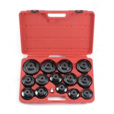 Набор съемников масляных фильтров чашка 15 пр. Force 61915