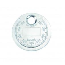 Щуп (монета) для измерения зазора между электродами свечи Force 63008