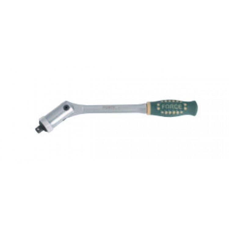 1/4 Трещотка шарнирная c резиновой ручкой L=200 мм Force 802234