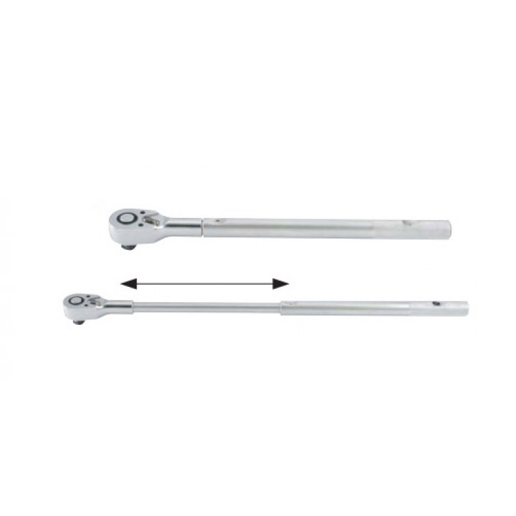 3/4 Трещотка телескопическая с металлической ручкой (48 зуб.) L=820 мм Force 8026820