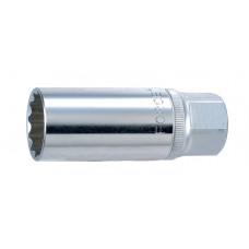 3/8 Головка свечная магнитная 16 мм, L=70 мм Force 807316M