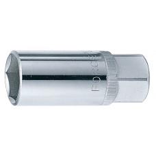 Головка свечная 16 мм, 1/2 L=65 мм Force 807416