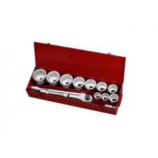 Набор инструмента 12-гранный 1  14 предметов (36-80 мм) Force 8141