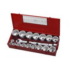 Набор инструмента 12- гранный 21 предметов 1  (1-7/16 -3-1/8 ) Force 8211S