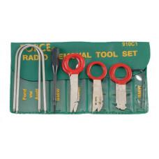 Набор для монтажа и демонтажа авторадиоаппаратуры 10 предметов Force 910C1