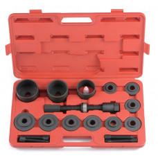 Набор для снятия и установки подшипников ступиц 20 предметов Force 920T1