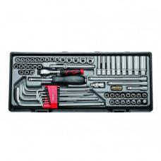 Набор инструмента 1/4  6-гр. 65 пр. Force T2641