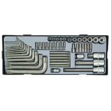 Набор инструмента Torx 52 пр. Force T3521