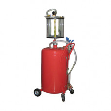 Установка для вакуумной откачки масла с мерной колбой (80л.)  GIKraft B8010KV