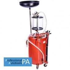 Установка для слива и вакуумной откачки масла с мерной колбой (80л.) GIKraft B8010KVS